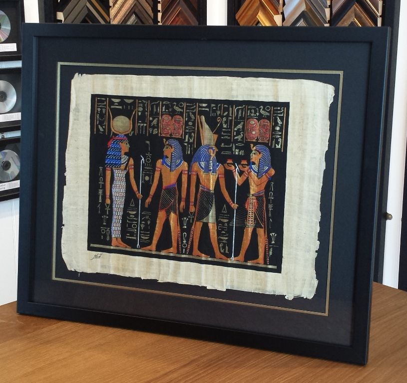 Frame Papyrus | Custom framing ideas | Pinterest | West indies style ...