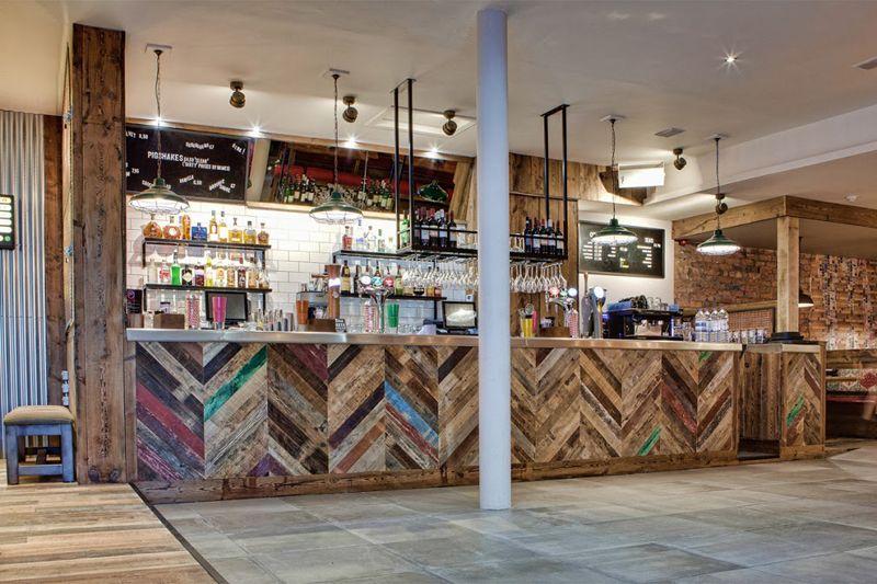 Fronty W Jodełkę Drewno Z Odzysku Z Kuchni Fronty Ze