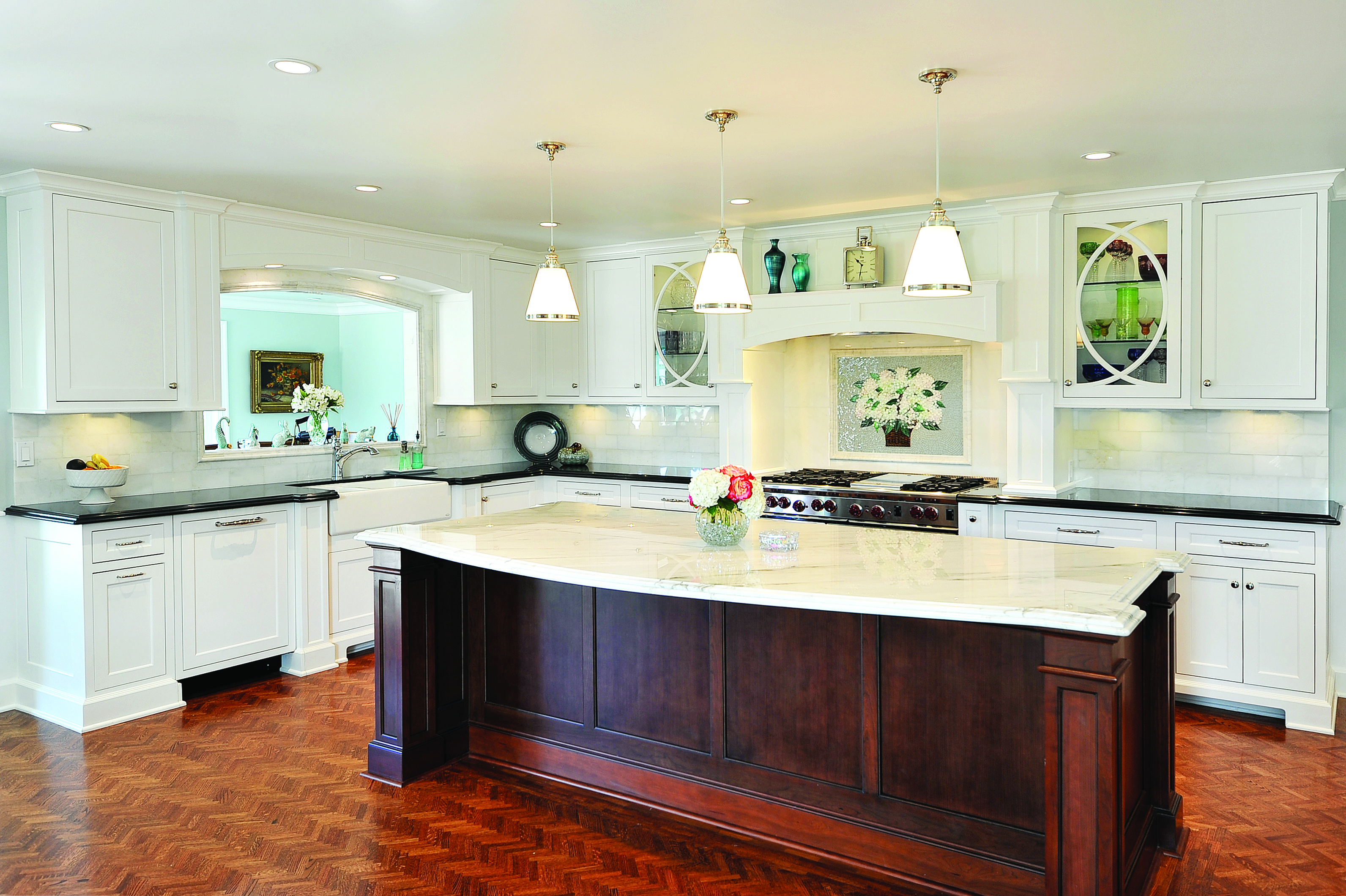 Woodland Cabinetry - Sutton - Maple - White | Kitchen and ...