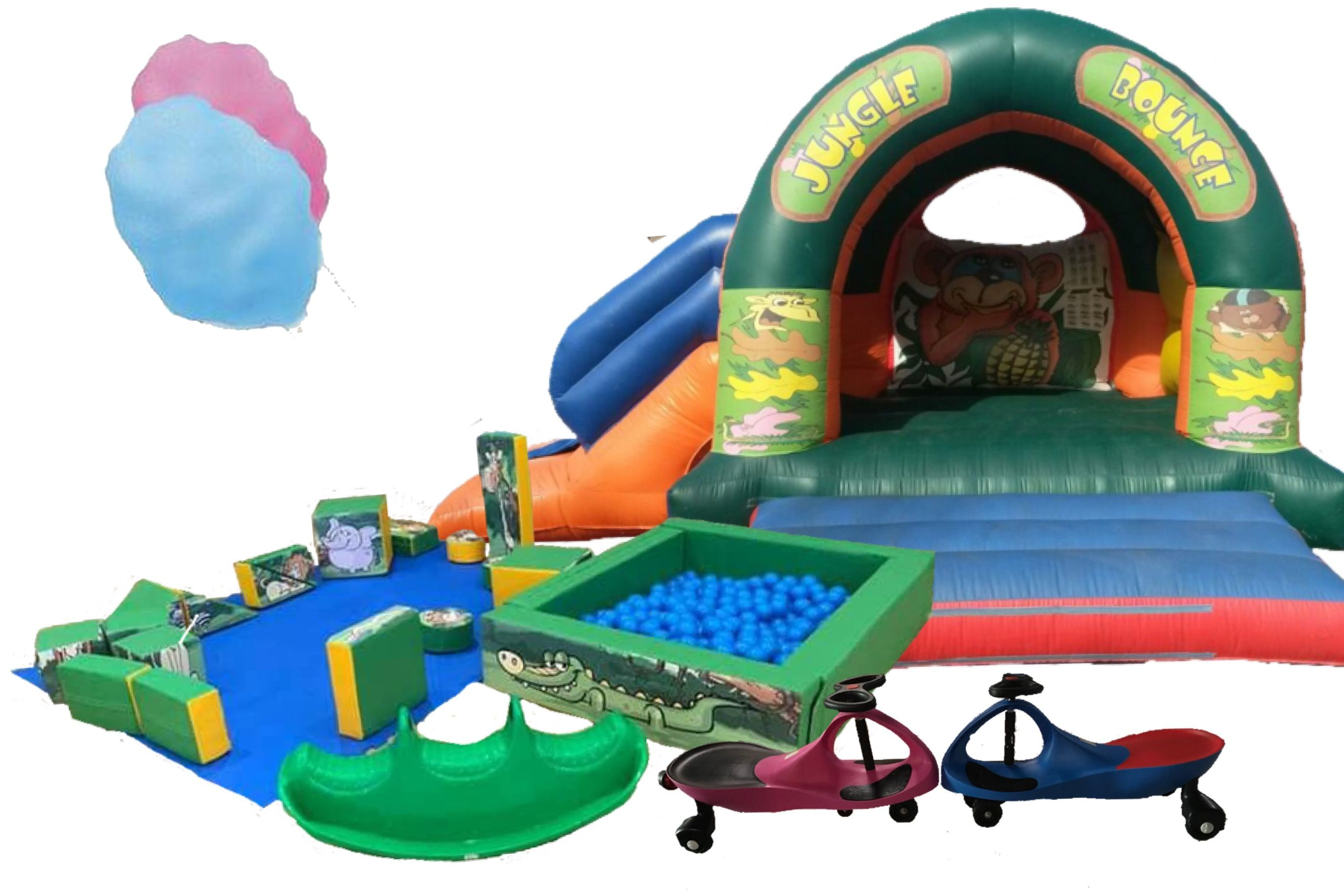 Bouncy Castle and Toddlers Soft Play Party Packages available for