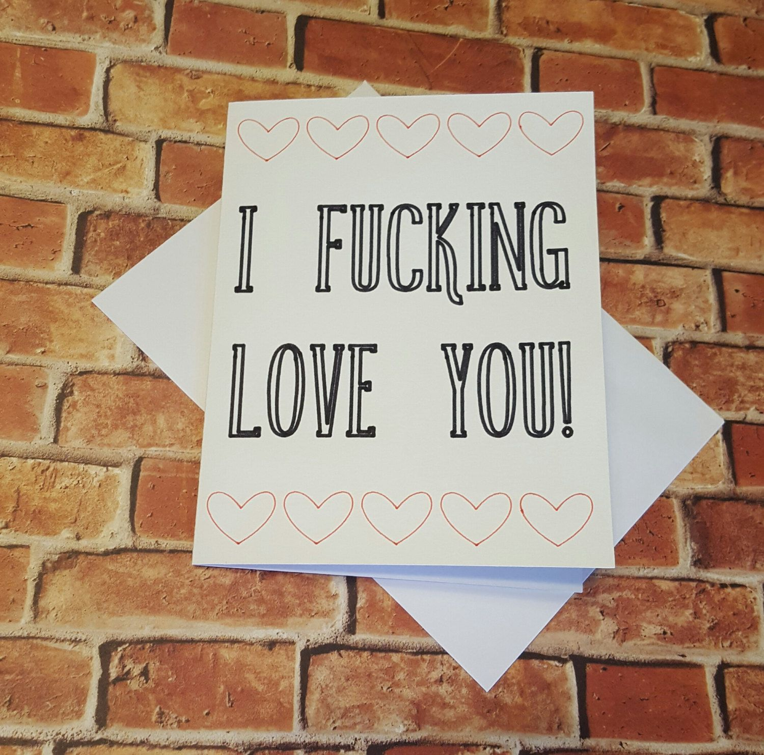 Mature I F Cking Love You Greeting Card Snarky Cards Funny Love