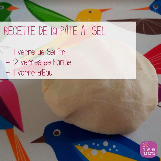 Relativ Découvrez, une recette facile de la pâte à sel, à proposer à vos  RU41