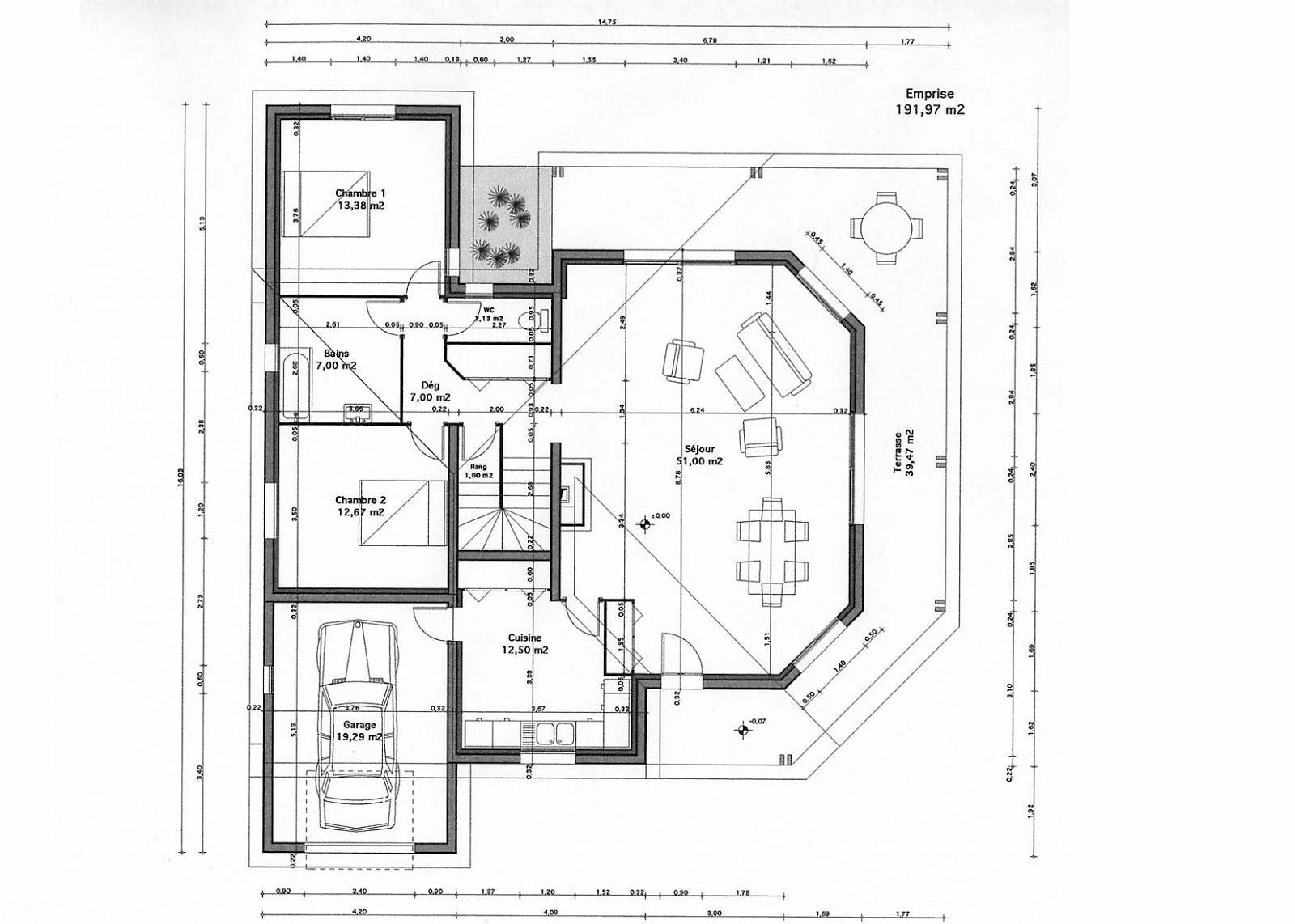 Plan Maison Architecture Plan Maison Gratuit Tunisie Plan Maison Architecture Gratuit Architect Design Architecture Facade