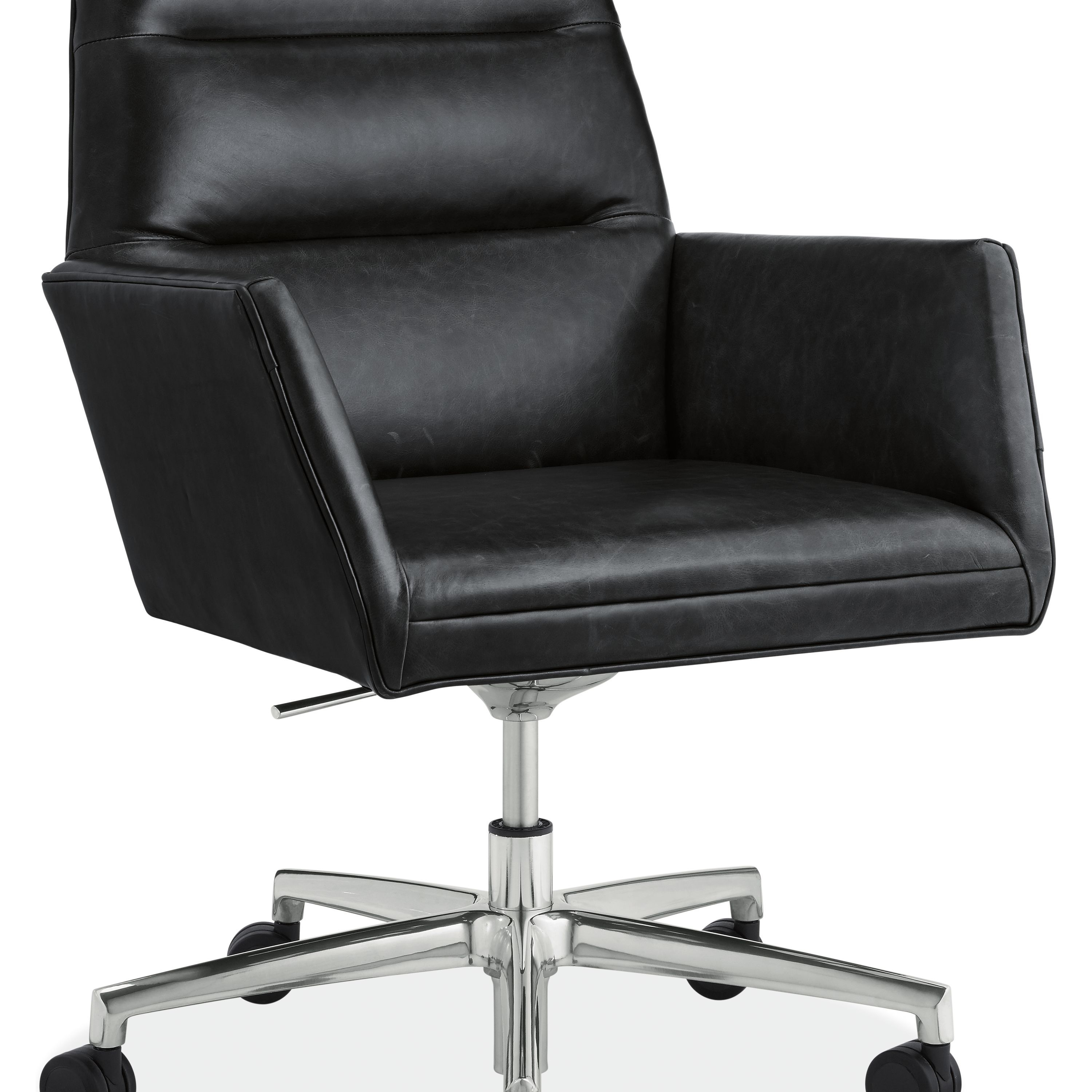Tenley Leather Office Chair Conference Room Chairs