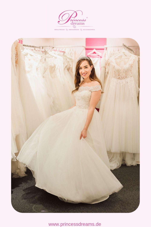 Brautkleid Blush A Linie mit Spitze  Ein wunderschönes