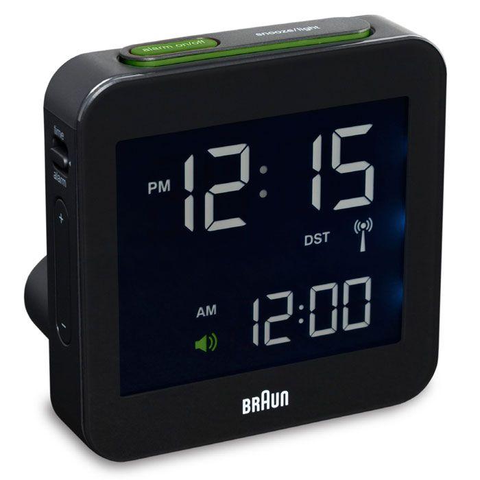 I Miss Alarm Clocks Braun Digital Clock Travel Alarm Clock Alarm Clock