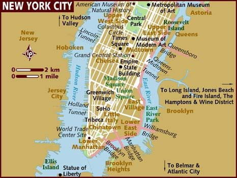 New York NY Map Traveled Here With My Sisinlaw When I Was - Ny map of cities