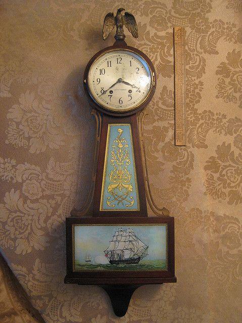 Seth Thomas Banjo Clock Img 1902 In 2019 Clock