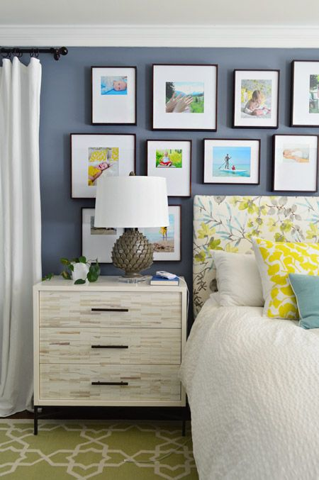 Making A Frame Gallery Wall Over Our Bed Young House Love