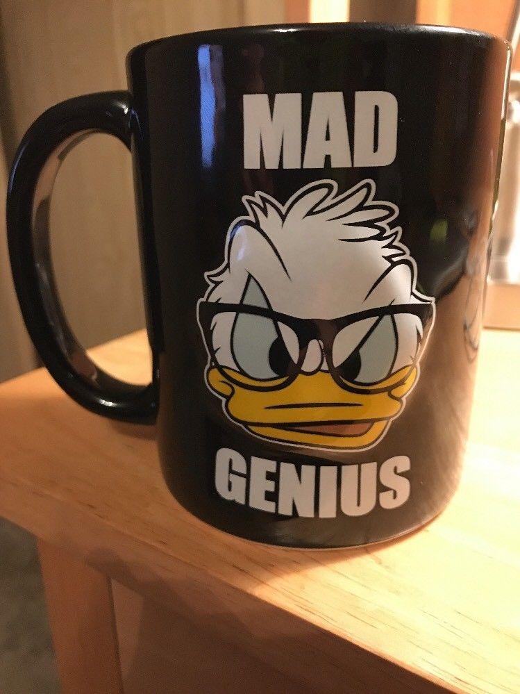 Et Soucoupes Disney TassesMugs Duck Mad Donald Park Genius Ceramic N0w8OPvnym