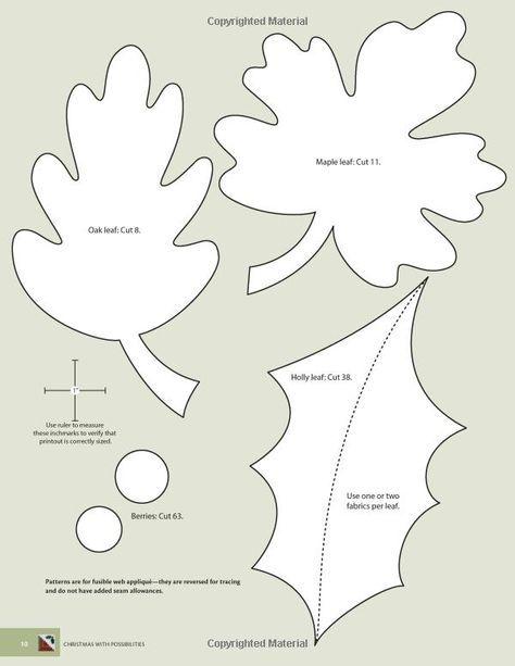 Pin by rawnie sovine on sewing blumen vorlage n hen for Herbstblatter vorlage