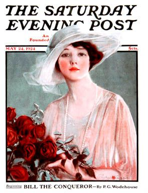 Sat Eve Post Cover ILL.  -  May 24 1924  This is th first of 22 Covers that Stanlaws exacuted for the Saturday Evening Post  -  All 22 are posted on this Board.