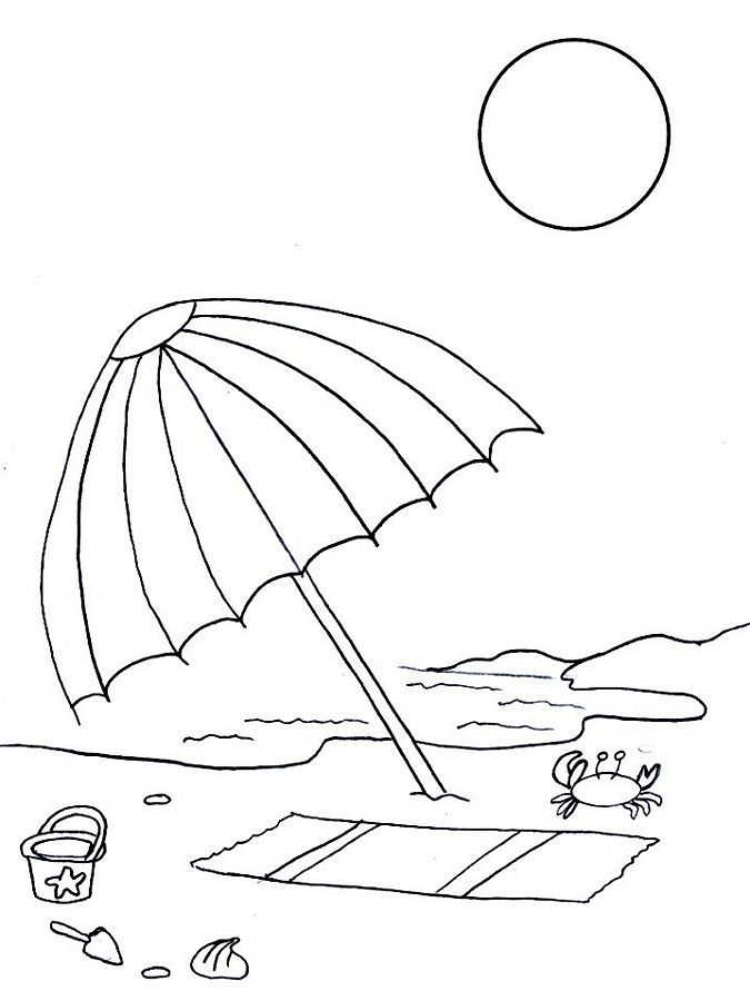 Free Summer Coloring Pages 41 Cartoon Pinterest Craft