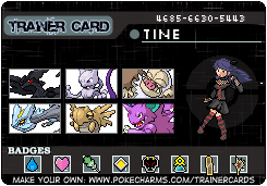 Trainer Card Maker Pokécharms Trainer Card Maker Pokemon My Pokemon