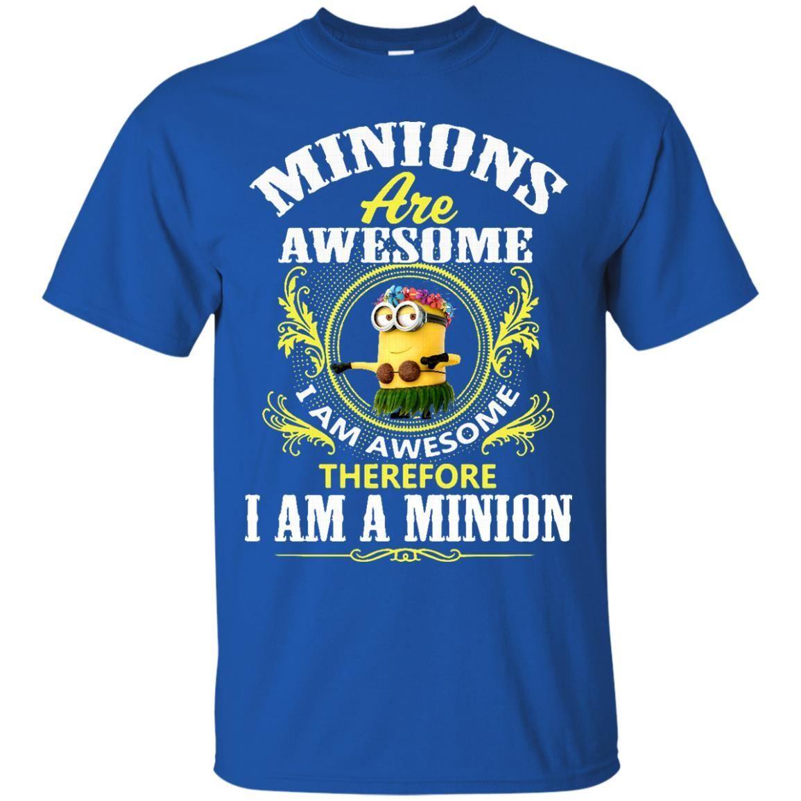 Minion T shirts Minion Are Awesome Hoodies Sweatshirts
