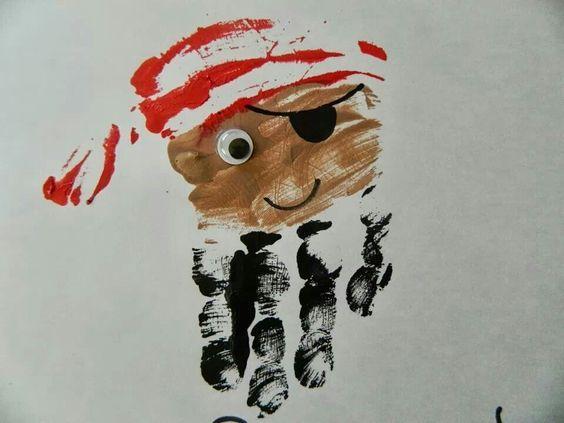 Knutselen Piraat Piraten Pinterest Pirate Anniversaire