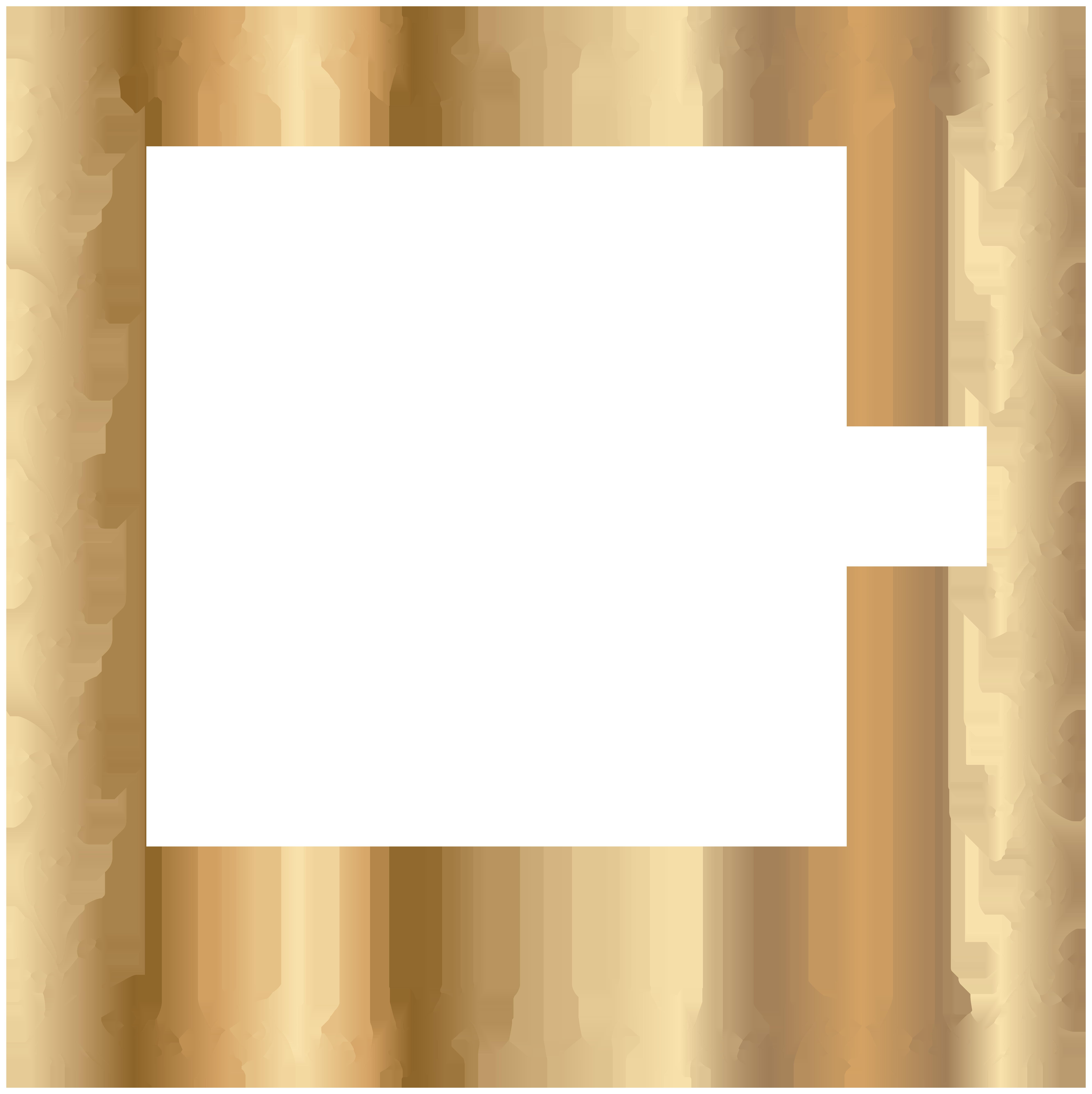 Border Deco Frame Gold Transparent PNG Image | mara ...