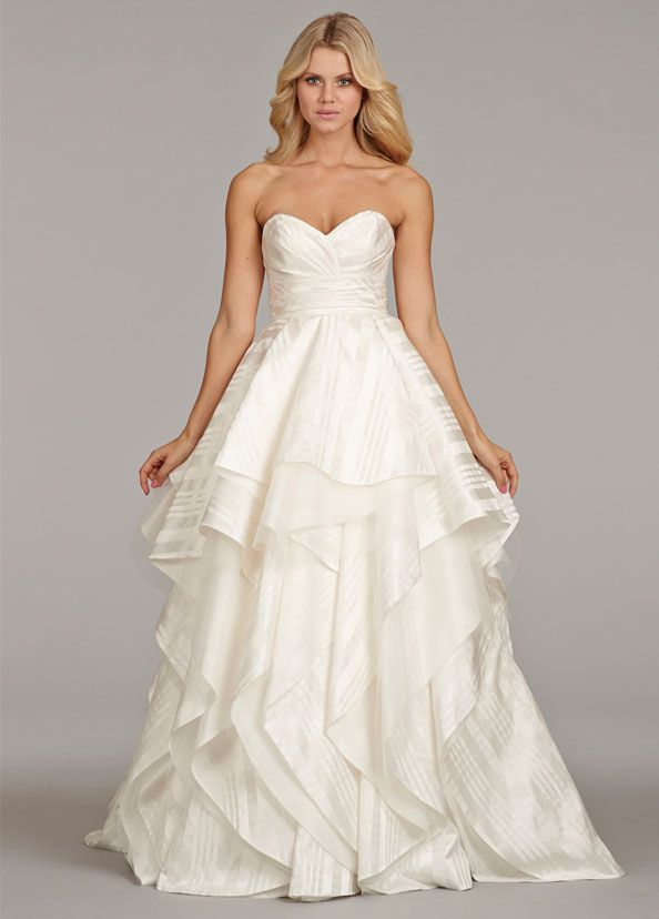 Wonderlijk Hayley Paige Marlowe available at Pearl Bridal House. | Striped KL-88