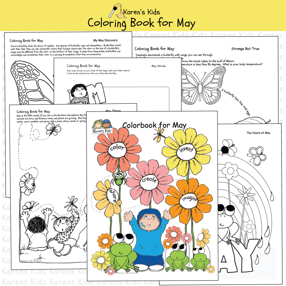 Fun Monthly Themed Pages For Students To Color Write Draw And Create Science Trivia And Fun Fac Kids Coloring Books Creative Writing Prompts Coloring Books