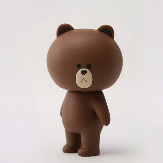 Pin By Boeing Pornprapa On Line Characters Art Toys Design Art Toy Line Friends Download wallpaper brown line hd