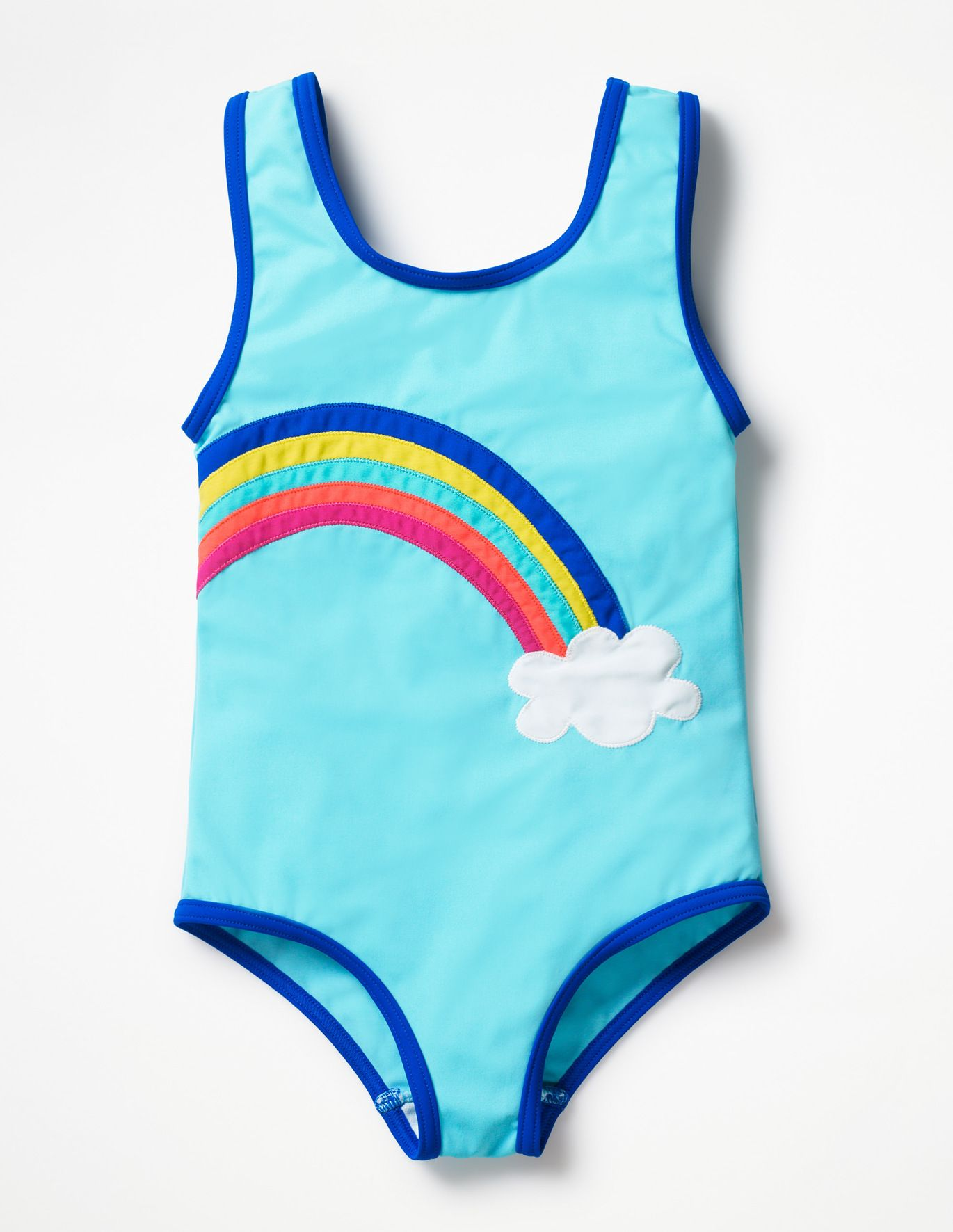 4f5e56f82df8c Fun Detail Swimsuit - Light Blue Rainbow | laynie loves style / KIDS ...