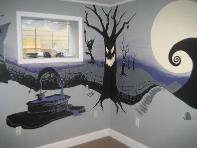 Halloween Bedroom Ideas Spooky  Halloween Bedroom Bedrooms And Unique Nightmare Before Christmas Bedroom Decor Inspiration