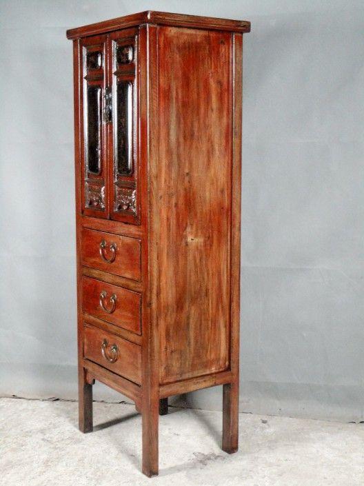 Rue De Siam Wohndesign Alter Chinesischer Schrank Ne 063cm Schrank Schwarz Dekor Asiatische Mobel