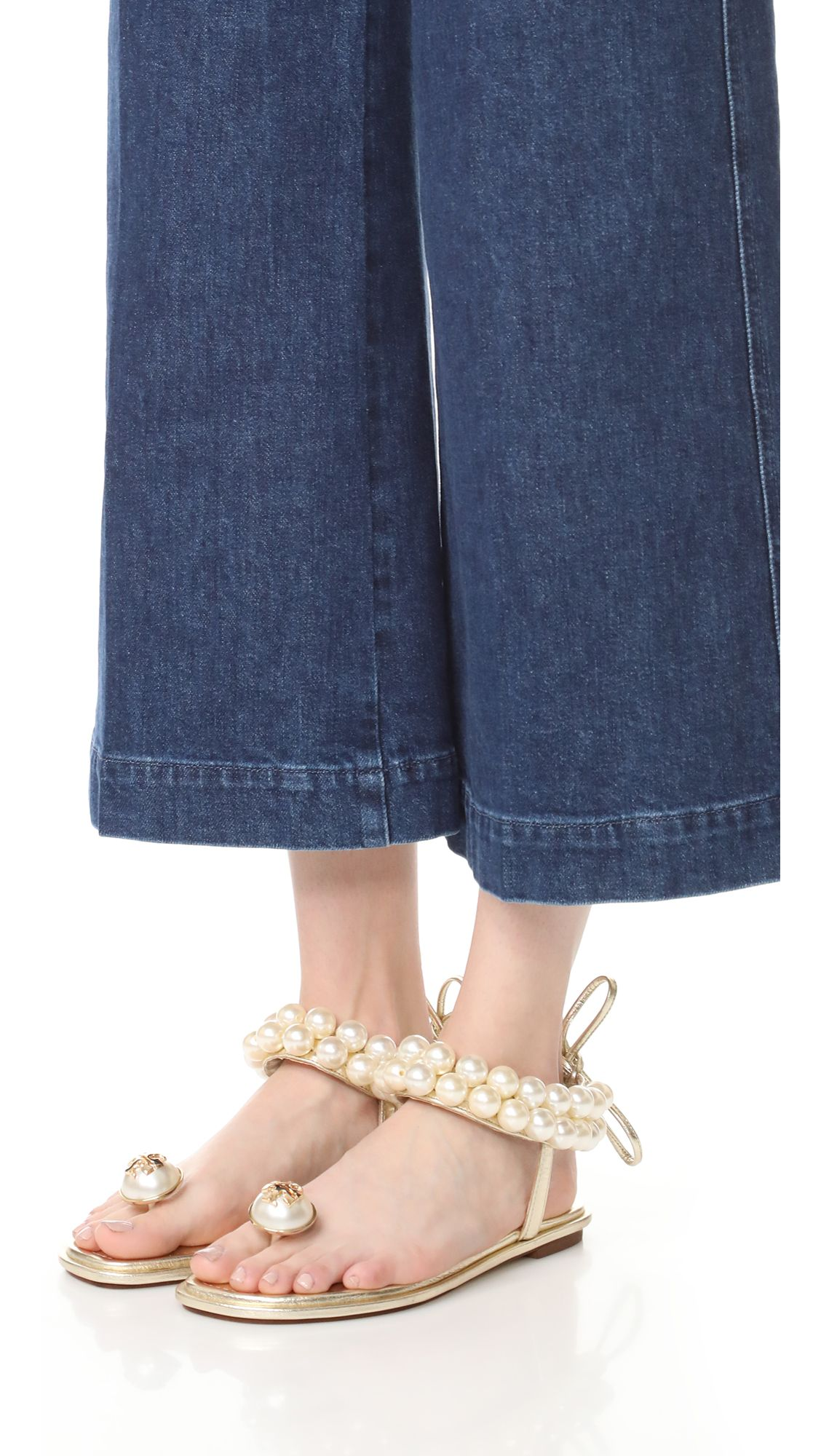 2166546a6fb Melody Ankle Strap Pearl Sandals Pearl Sandals