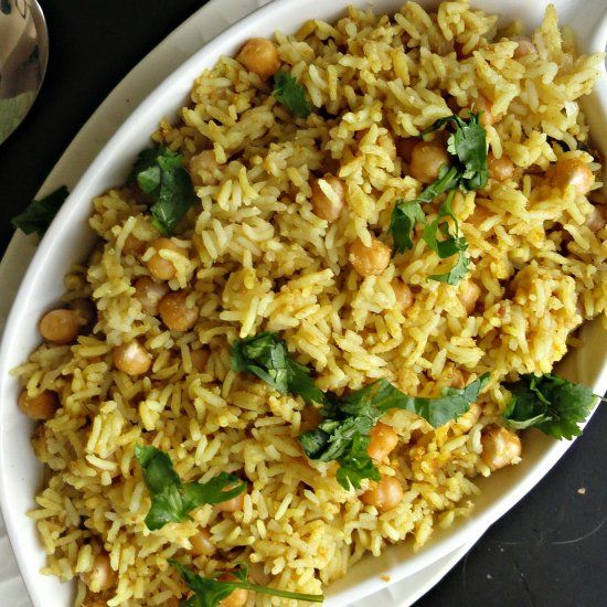 Indian style chickpea rice the best and easiest rice you will ever indian style chickpea rice the best and easiest rice you will ever make easy rice recipesrice cooker forumfinder Choice Image