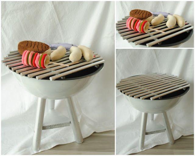 Spiel grill selbst bauen diy kindersachen pinterest for Outdoor spule selber bauen