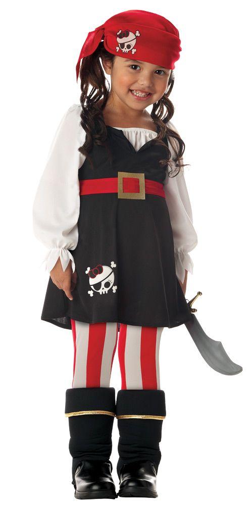 PRECIOUS LIL PIRATE Costume - CostumePub.com #diypiratecostumeforkids