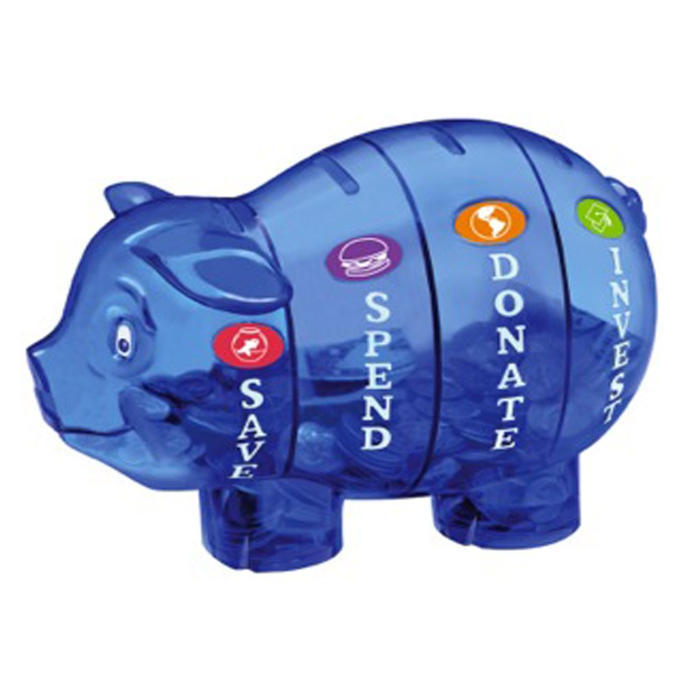 Money savvy piggy bank the boys pinterest - Coin banks for boys ...