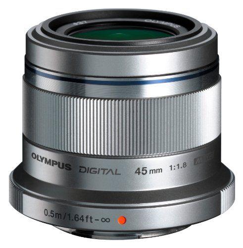 Olympus M Zuiko Digital Ed 45mm F1 8 Silver Lens For Olympus And Panasonic Micro 4 3 Cameras International 3 Materiel Photo Camera Photos Nikon D3100