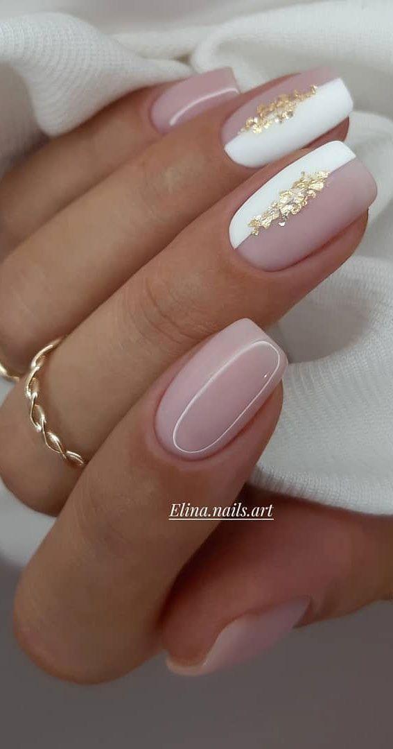 pix Elegant Neutral Nail Designs pretty nail art designs pink nails