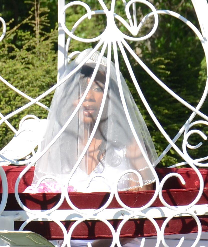 Old Westbury Gardens Events: Bride Keturah Eason At Old Westbury Gardens Long Island NY