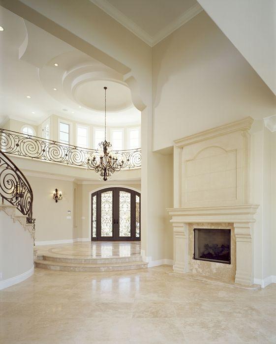 Travertine Foyer Design : Uses for travertine you should consider