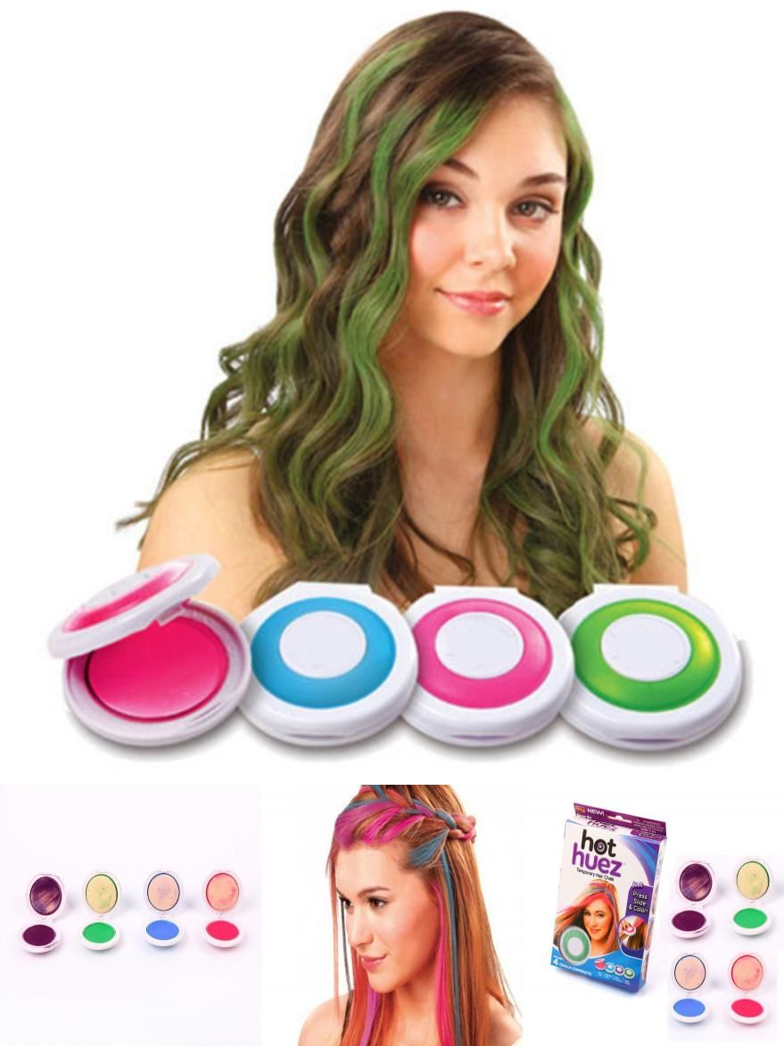 Visit To Buy New Fashion 1 Set 4 Colors Hair Dye Temporary Hair