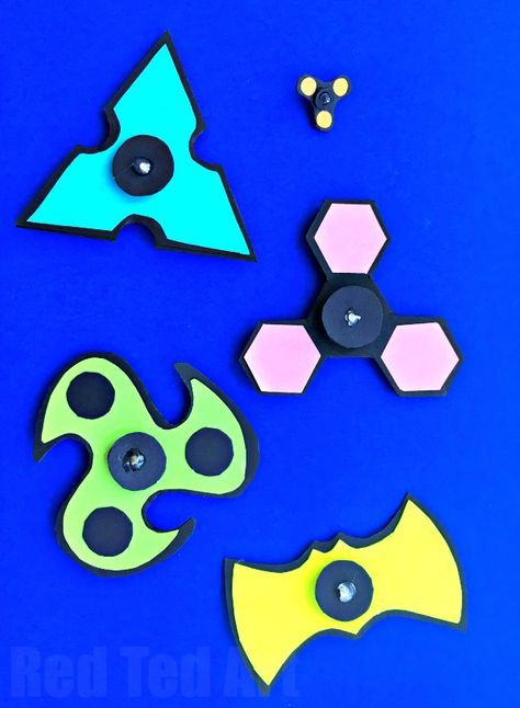 New Diy Printable Fidget Spinner Template Here Are 5 Designs For Spinners Print Cut Embled Made