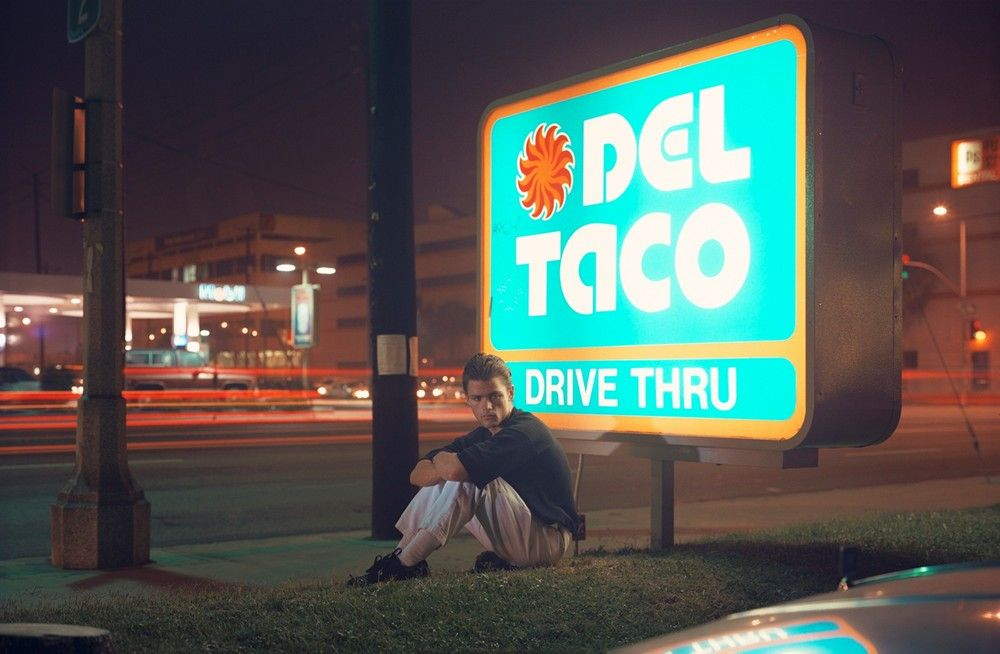 """Ralph Smith, 21 years old, Ft. Lauderdale, Florida, 25"" 1990–2 Philip Lorca DiCorcia"