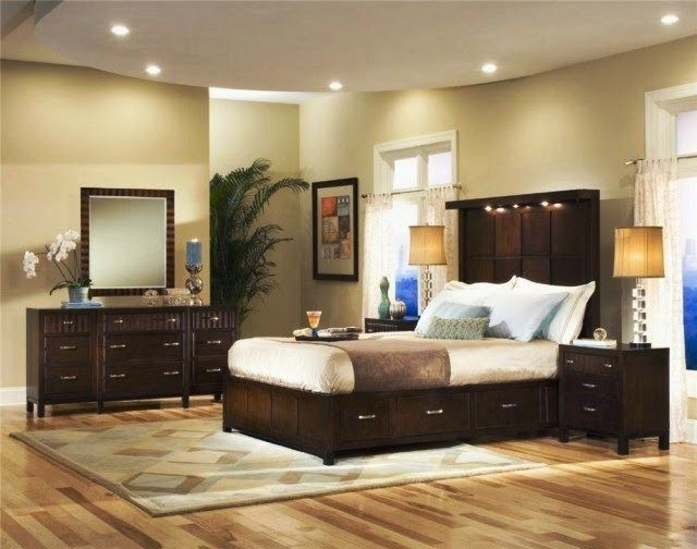 black furniture wall color  bedroom paint schemes