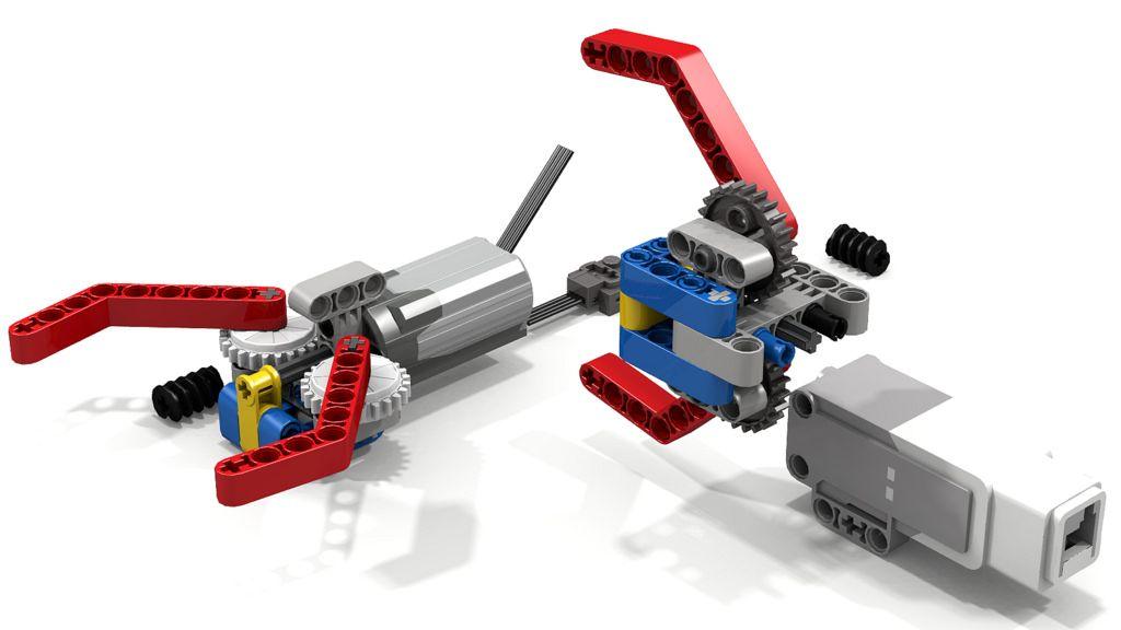 Simple Lego Grabber Claw/Gripper | Lego