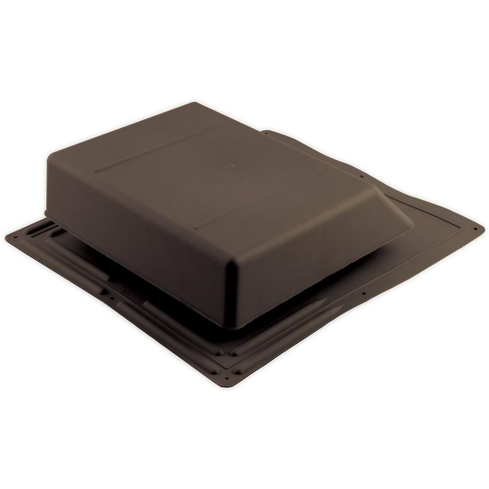 Air Vent 61 Sq In Nfa Plastic Slant Back Roof Louver Static Vent In Brown Sold In Carton Of 6 Only Slp61br Aluminum Screen Roof Vents