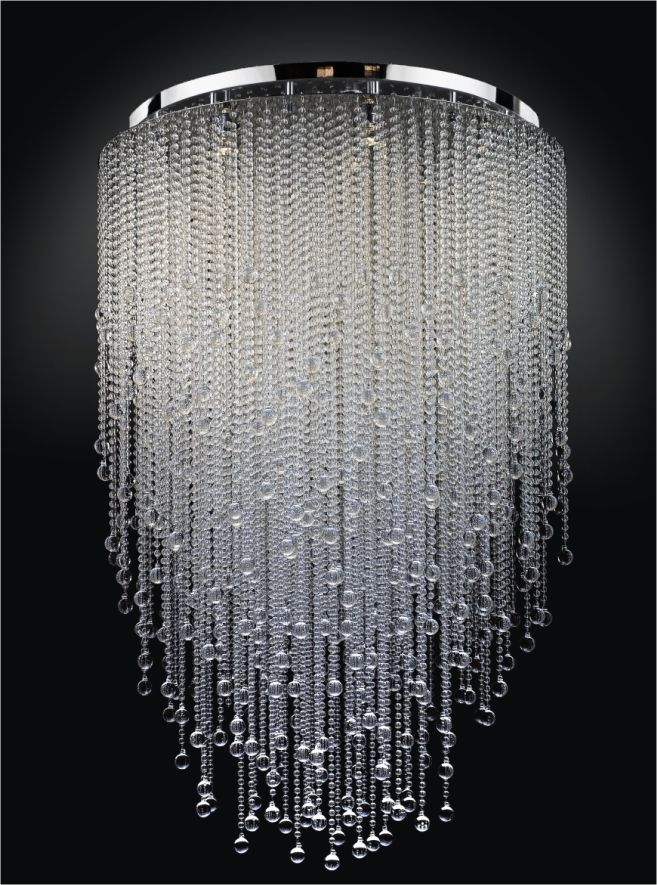 A small version of this with strung beads and or christals for my fabulous pictures of chandeliers large chandeliers wearmoa regarding home design goes light fixtures are one of one of the most elegant devices that you aloadofball Image collections
