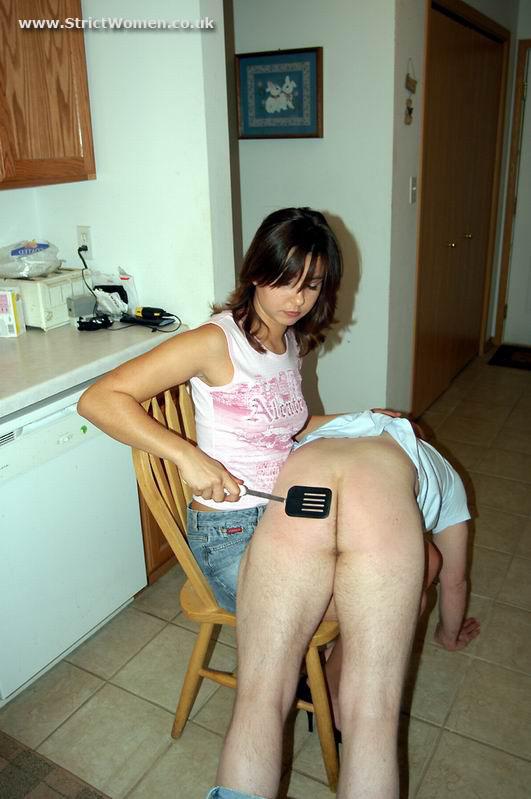 whap husband spank