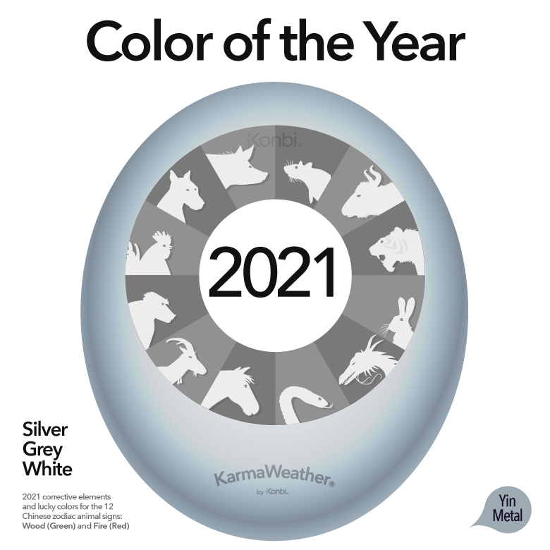 Feng Shui Lucky Colors For 2021 Year Of The Ox Lucky Colour Color Of The Year Feng Shui