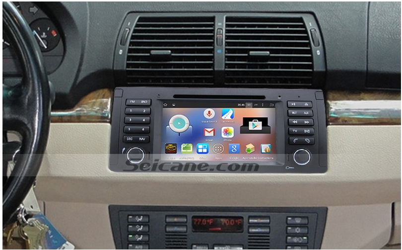 Android 444 Autoradio Gps System For 20002007 Bmw X5 E53 30i 30 Rhpinterest: 2007 328i Bmw Screen Radio At Gmaili.net