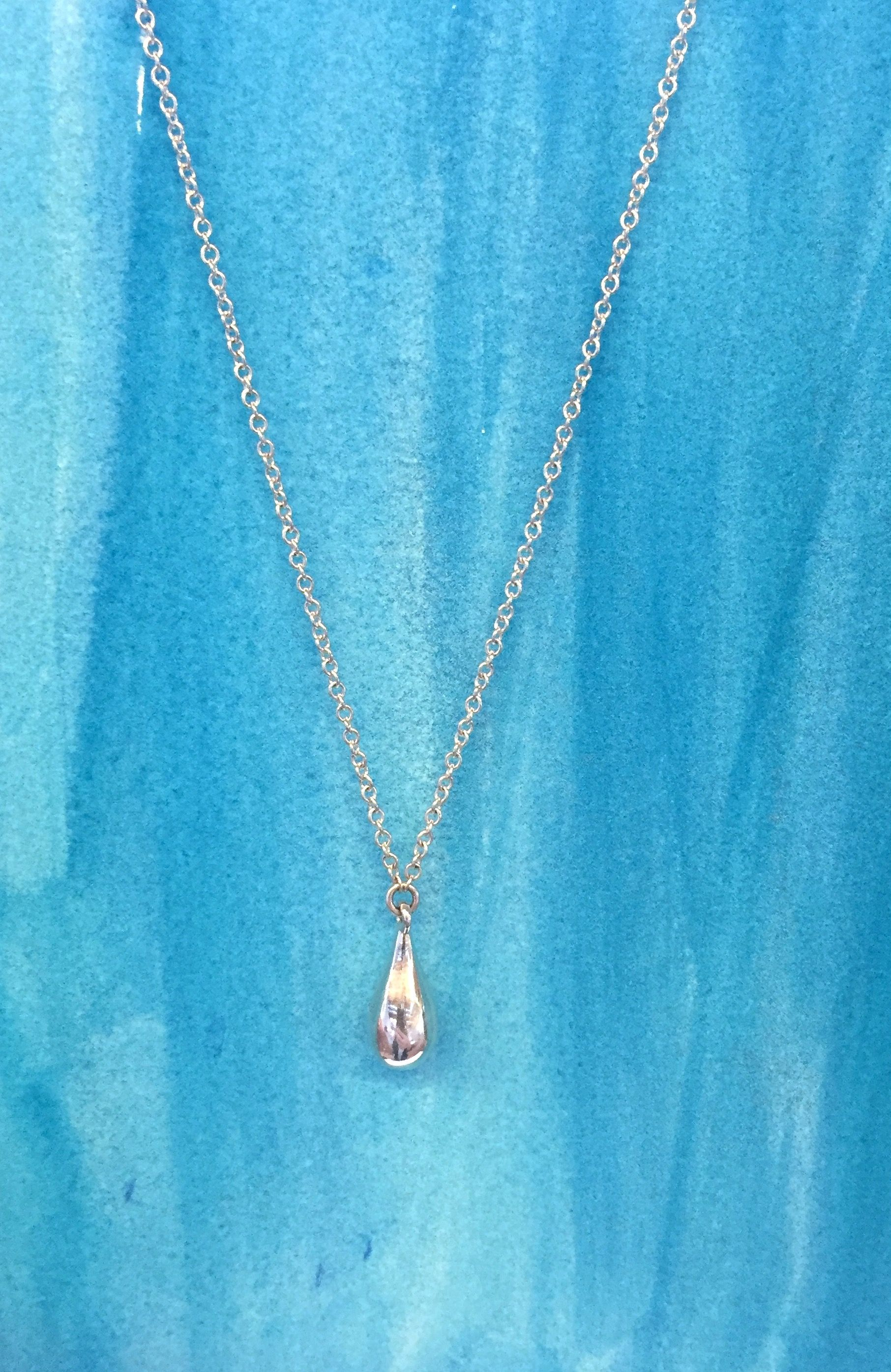 CAROLEE has designed this stunning water drop inspired necklace that will help support Water.org. CAROLEE will donate $10 to Water.org from the sale of each Sterling Silver Water Drop Necklace.