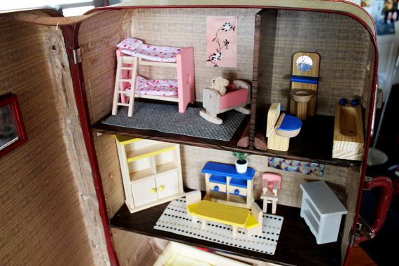 Dollhouse Miniature Wood Crate Cane Sugar Vintage Style 1:12 Scale Handmade