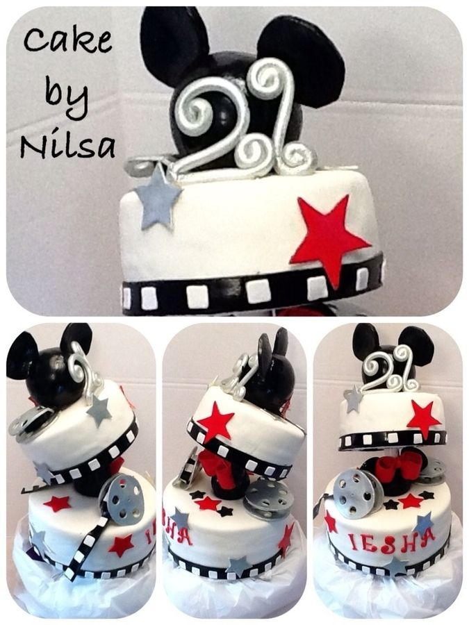 My daughter 21 birthday cake I made her Birthday Cakes for Girls