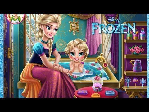 Frozen Games Elsa Baby Care Frozen 2 Game Episode Funny Games For Kids Frozen Games Disney Princess Games